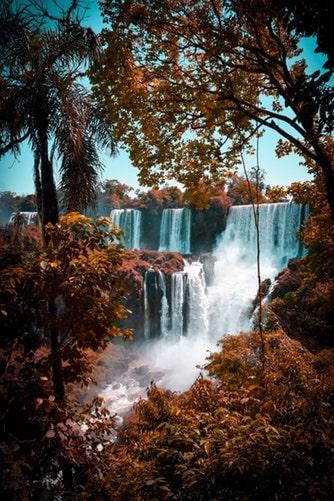 Panorama mozzafiato delle cascate argentine