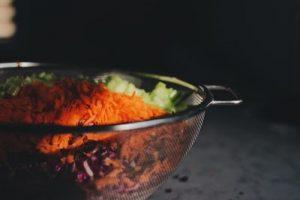 Insalata di carote tipica della cucina algerina