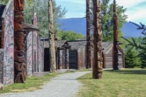 tradizionali case in legno canadesi