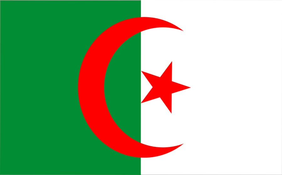 bandiera dell'Algeria
