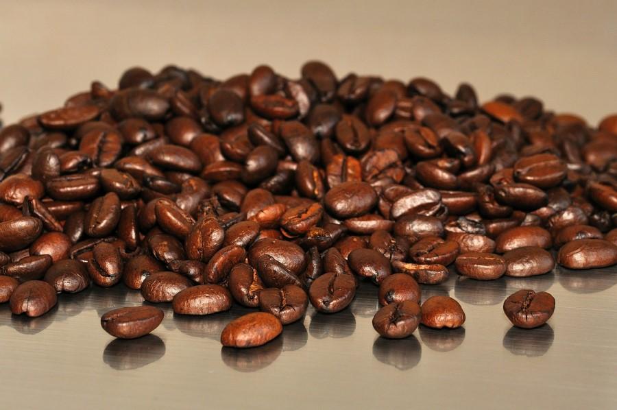 chicchi di caffè di alta qualità