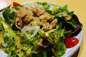Gado Gado insalata di verdure con salsa di arachidi
