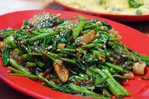 Palak Bhaji piccante fritto spinaci