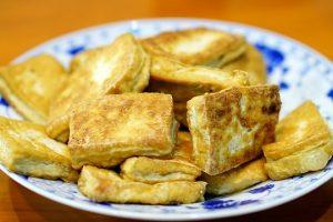 Tofu fritto