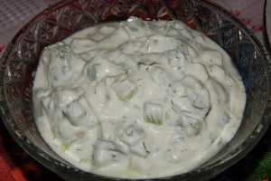 Tzatziki yogurt al cetriolo