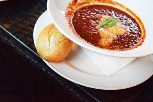 salsa di peperoncino e soia