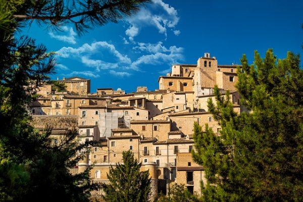 Una regione di ricca di borghi, tra cui molti inseriti nella lista dei borghi più belli d'Italia